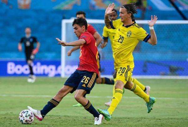 युरोकप : स्पेन र स्वीडेनले गोलरहित बराबरी खेले