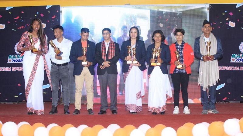 सुदूरपश्चिम स्पोर्टस अवार्ड : गोपीचन्द्र र गौरीका उत्कृष्ट, सरस्वती लोकप्रिय