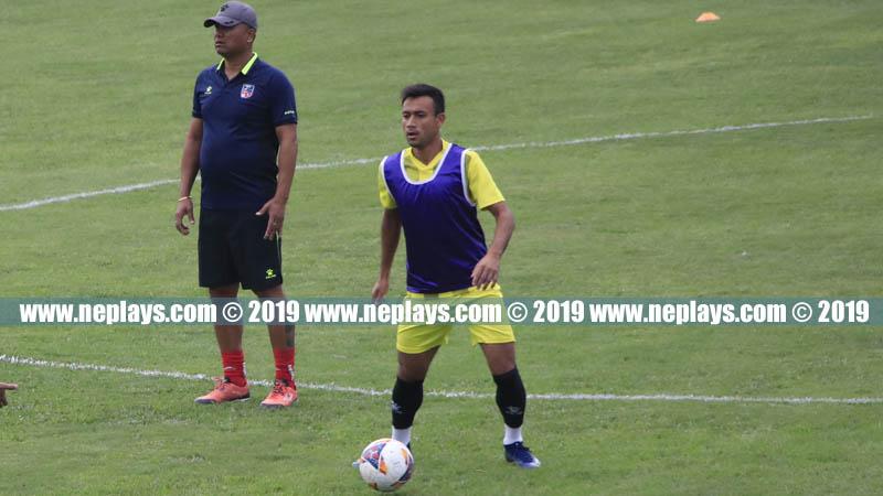 सागमा स्वर्ण जित्नै पर्ने चुनौती छ : फुटबल कप्तान सुजल