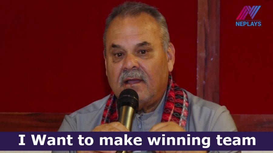 ४५ बर्षको अनुभवको प्रतिफल नेपाली क्रिकेटले पाउने छ-डेभ ह्वाटमाेर
