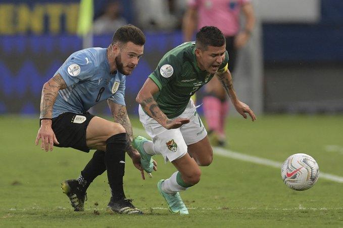 कोपा अमेरिका : उरुग्वे विजयी, समूह एबाट क्वाटरफाइनल पुग्ने टिमको टुंगो लाग्यो