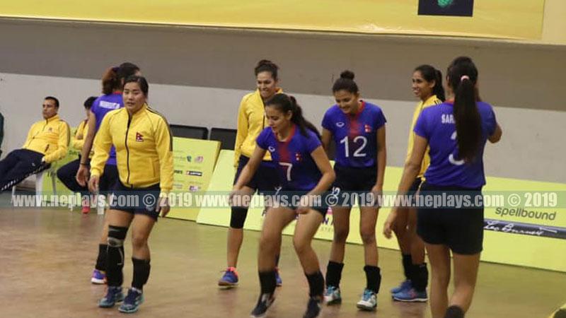 नेपाली महिला भलिबल टिम ऐतिहासिक स्वर्ण पदक नजिक, फाइनलमा आज माल्दिभ्ससँग फेरि खेल्दै