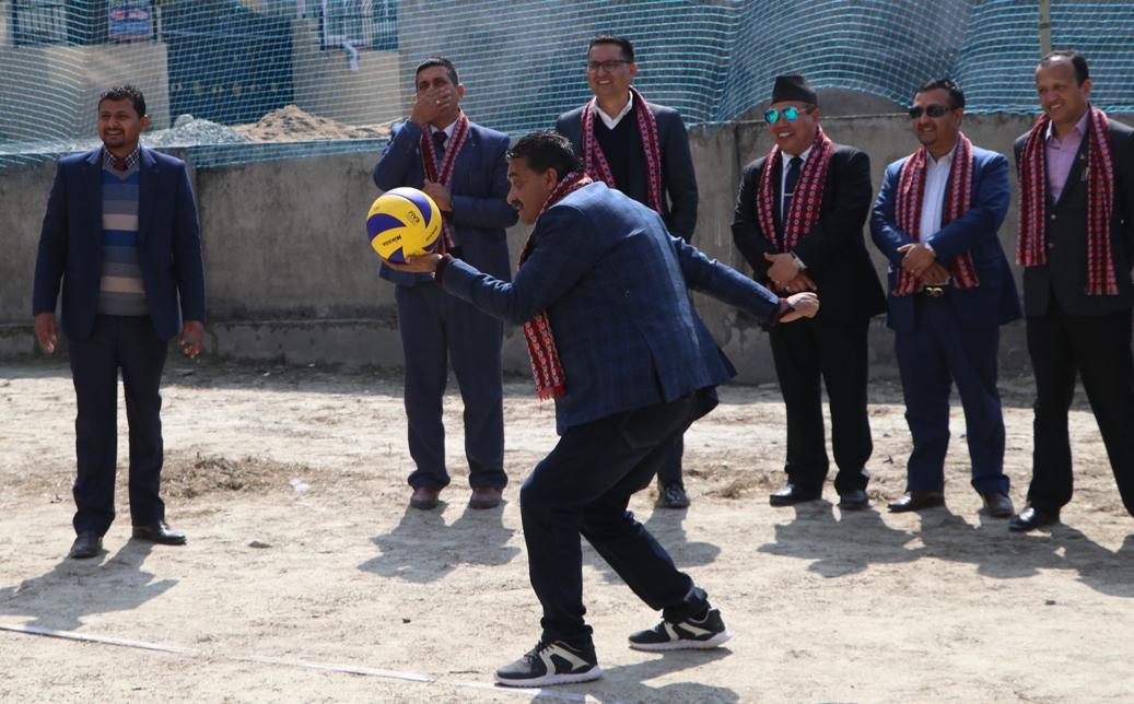 हिसान खेलकुद सप्ताह : भलिबलमा प्रिसियस क्वाटरफाइनलमा