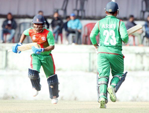 मेयर कप क्रिकेट आजदेखि, उद्घाटन खेलमा आर्मी र एपीएफ भिड्दै