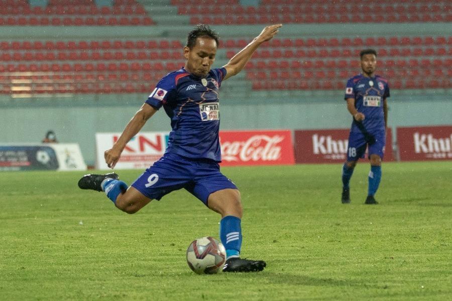 विराटनगर र काठमाडाैंकाे खेल २-२ गाेलकाे अवस्थामा