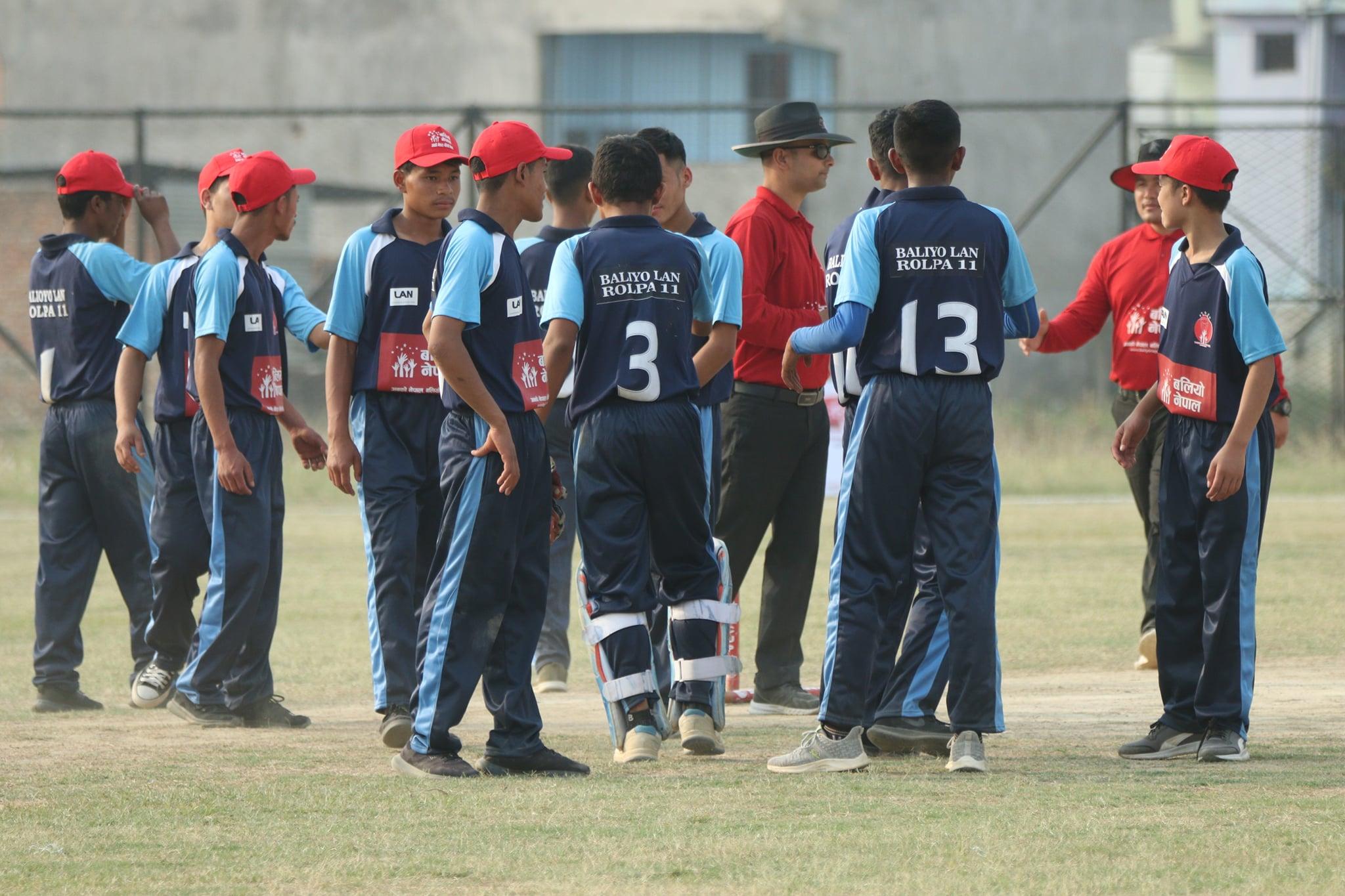 बलियाे नेपाल कपः गुल्मी र रोल्पा विजयी