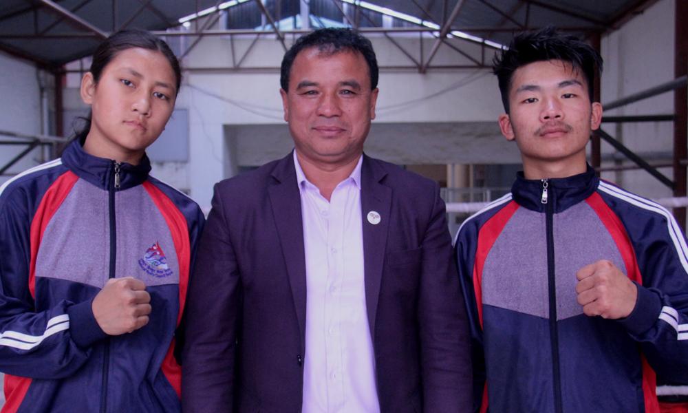 सुरेन्द्र र कुुसुमले युथ एशियन बक्सिङ प्रतियोगिता  खेल्ने
