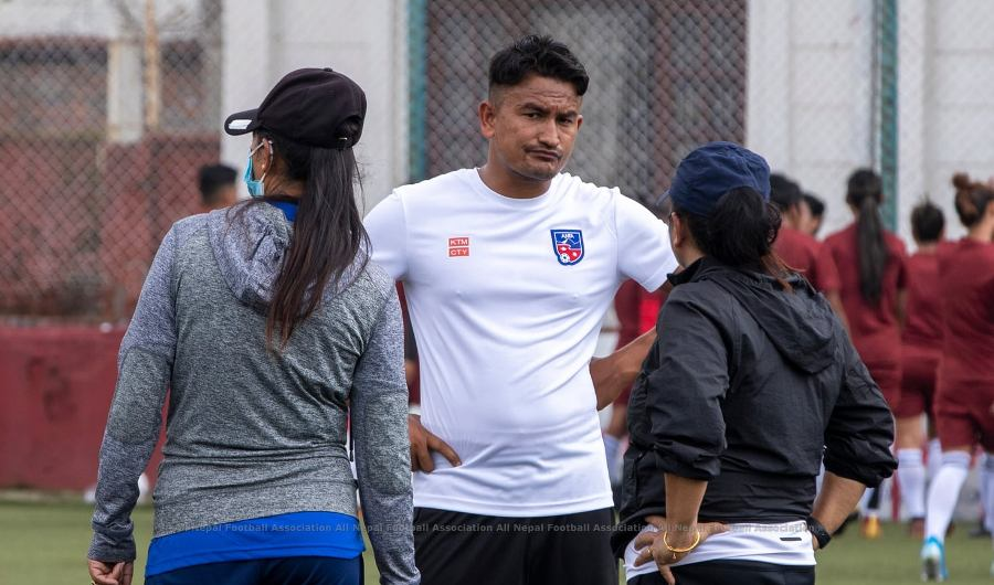 Chetan Ghimire, appointed as Assistant Coach of Women's Football Team
