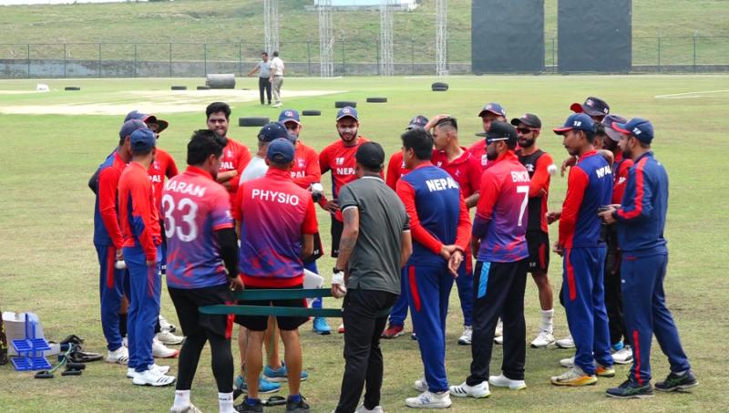 स्पेन टूरका लागि नेपाली क्रिकेट टिमको बन्द प्रशिक्षण विहीबारदेखि!