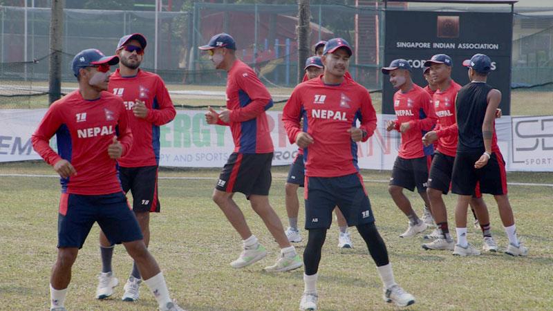 क्रिकेट क्याम्पका लागि १५ लाखमा क्वारेन्टिन र ३५ जनाकाे पीसीआर परीक्षण गरिने