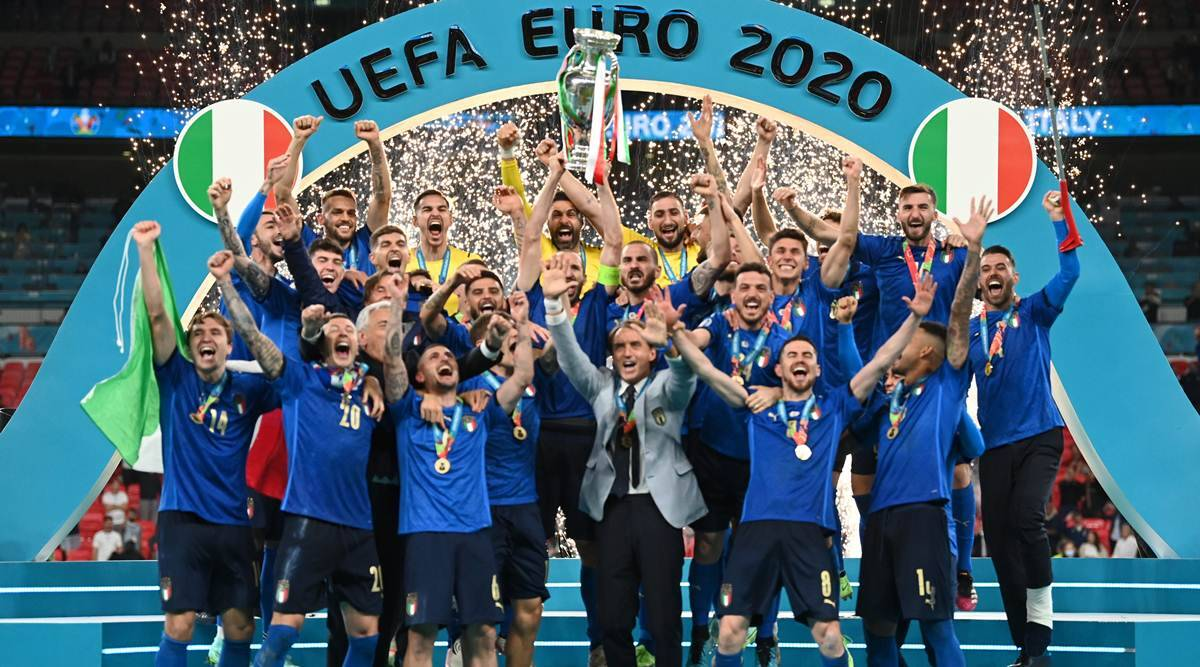 Italy's dominance in the Euro Cup 2021
