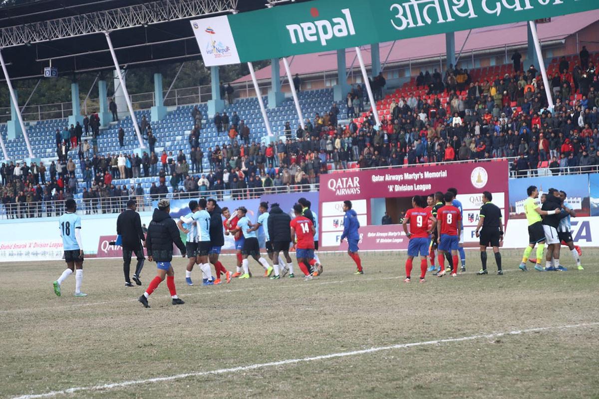मनाङका र मच्छिन्द्रका ३-३ खेलाडी प्रतिबन्धमा, दुबै क्लवलाई ५०–५० हजार जरिवाना