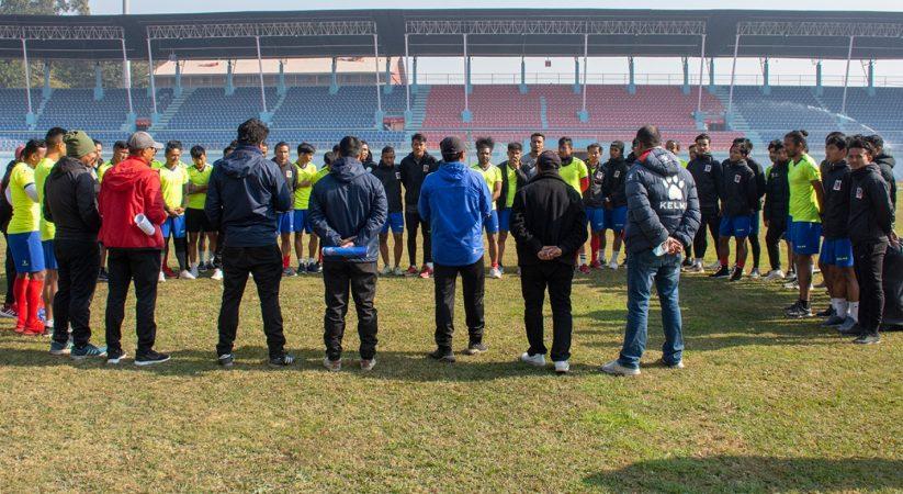 किर्गिस्तानविरुद्ध नेपालको एउटै लक्ष्य जित, घरेलु मैदानमा खेल्न खेलाडी उत्साहित
