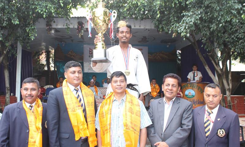 र्इण्डाे नेपाल गाेजुकार्इ करातेमा चिल्ड्रेन मोडल टिम च्याम्पियन
