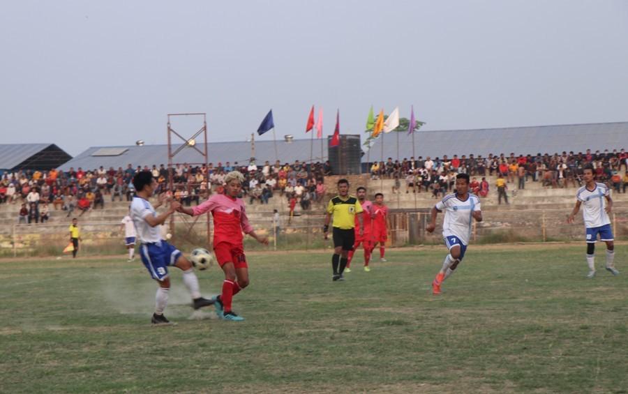 बिराटनगर गिरिजाप्रसाद कोइराला फुटबलको फाइनलमा