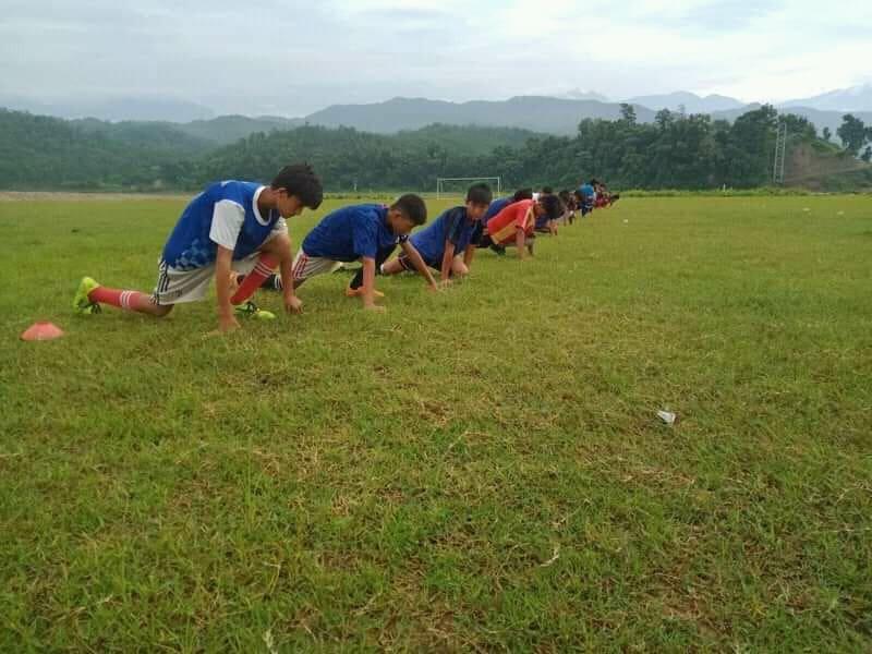 बागमती गाउँपालिकामा ग्रासरुट फुटबल प्रशिक्षण सुरु