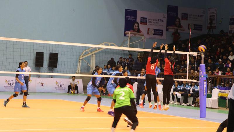 १३ औं साग : महिला भलिबलको फाइनलमा पुग्यो भारत