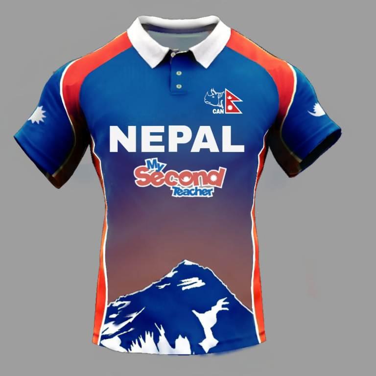 राष्ट्रिय क्रिकेट टोलीको जर्सी डिजाइनका लागि खुल्ला प्रतिस्पर्धा, जित्नेले १ लाख पाउने