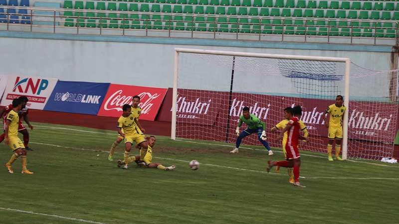 काठमाडौंलाई अतिरिक्त समयमा हराउँदै धनगढी एनएसएलको फाइनलमा