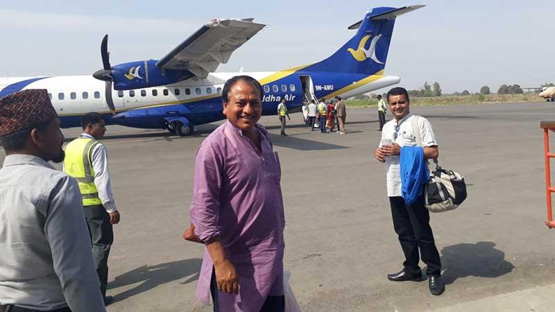 आठौंको उद्घाटनको निम्तो दिन सदस्यसचिव काठमाडौंमा