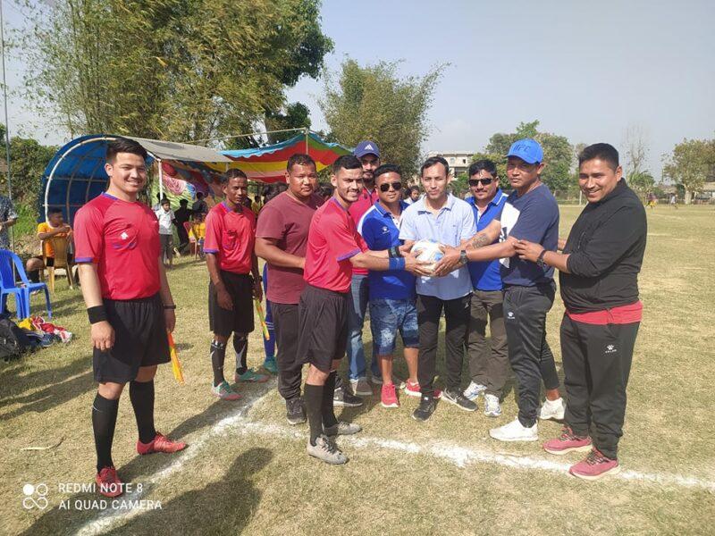 धनगढी मेयर उपमेयर कप फुटवलः वडा नम्बर १ र ७ विजयी