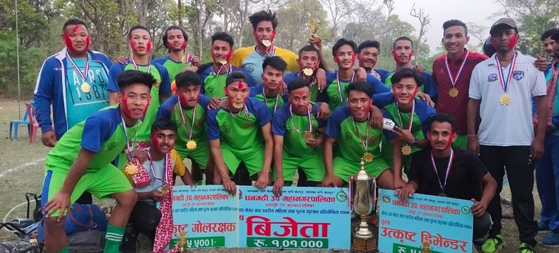 धनगढी मेयर, उपमेयर कप फुटवलः पुरुषमा १२ र महिलामा १९ नम्बर वडालाई