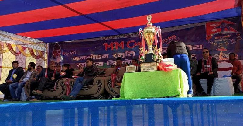 मनमोहन स्मृती राष्ट्रिय एकदिवसिय क्रिकेट प्रतियोगिता फेरी स्थगित