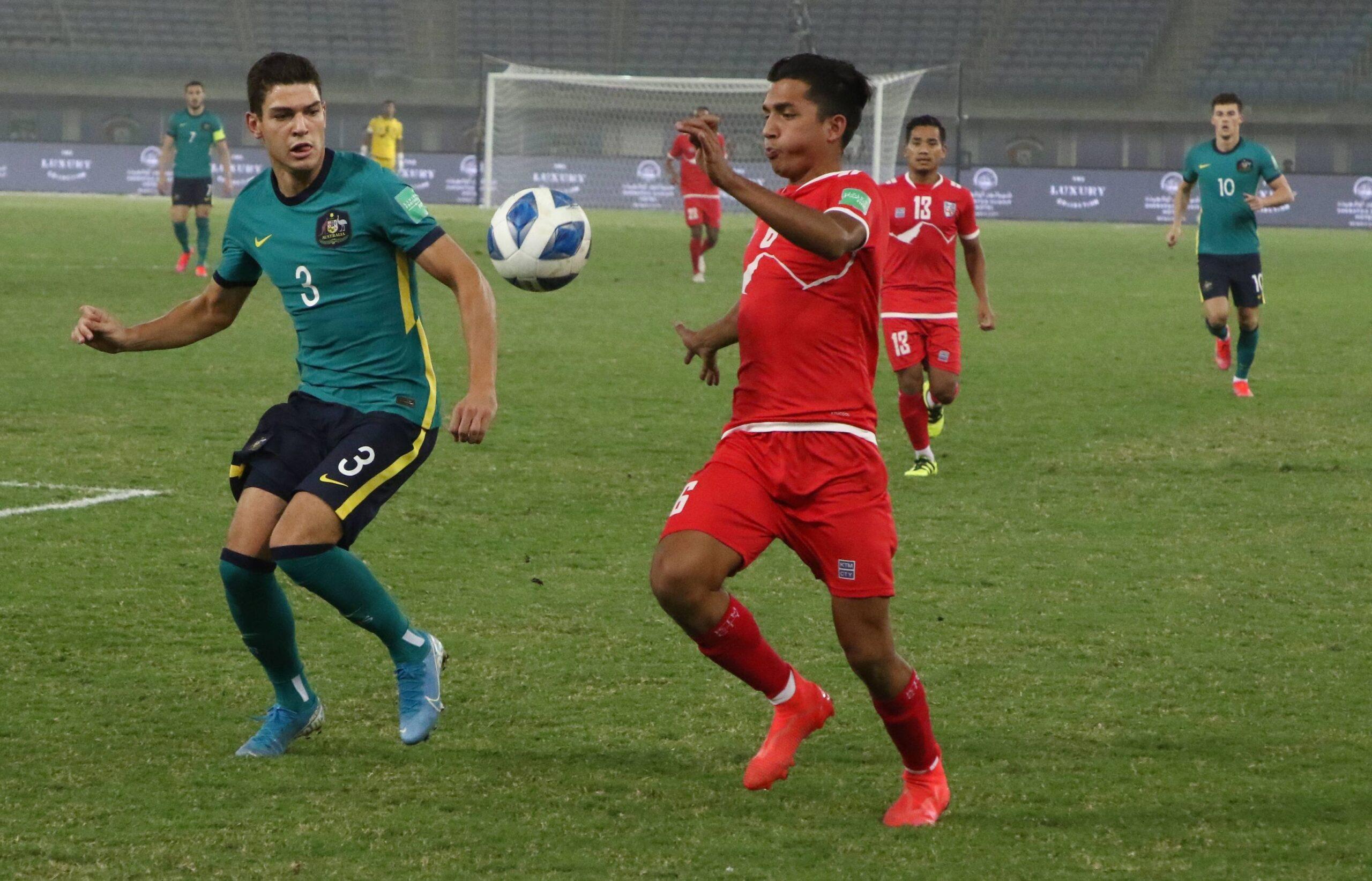 नेपाल अष्ट्रेलियासँग ३-० ले पराजित, आयुष २००६ पछि राष्ट्रिय टिममा डेब्यु गर्ने सयाै खेलाडी