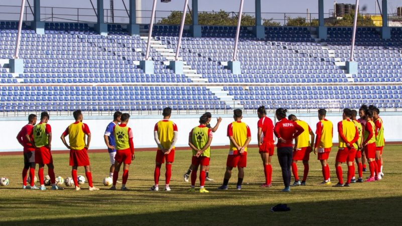 त्रिदेशीय फुटबल प्रतियाेगितामा नेपालकाे पहिलाे प्रतिस्पर्धा किर्गिस्तानसँग