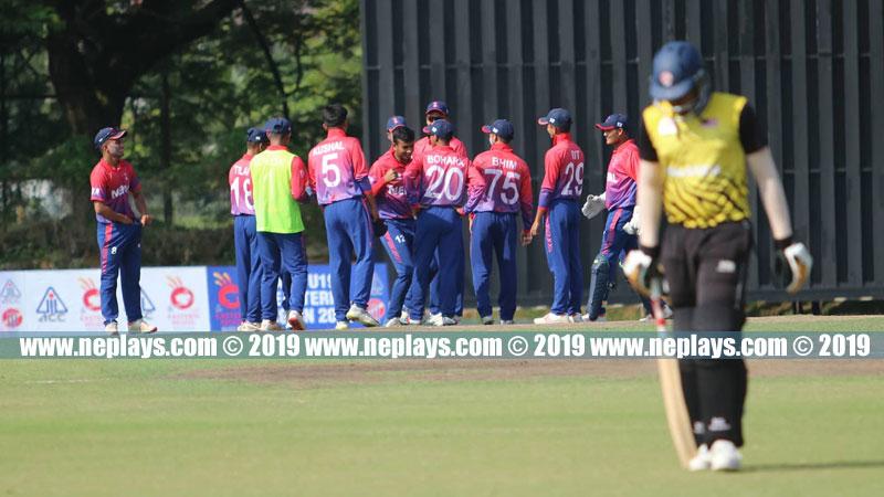 Nepal reaches final of ACC U-19 Eastern Region Cricket Tournament