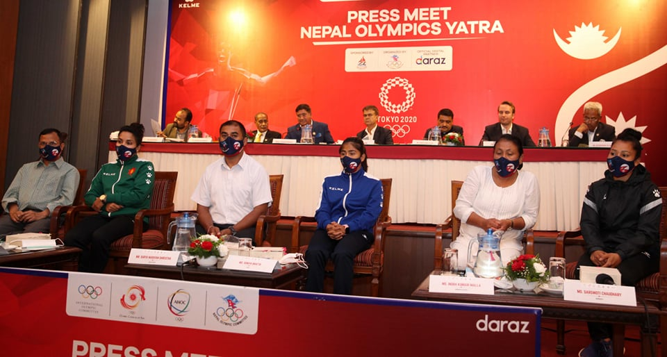 Gaurika to carry Nepal's flag at the Olympics' opening ceremony