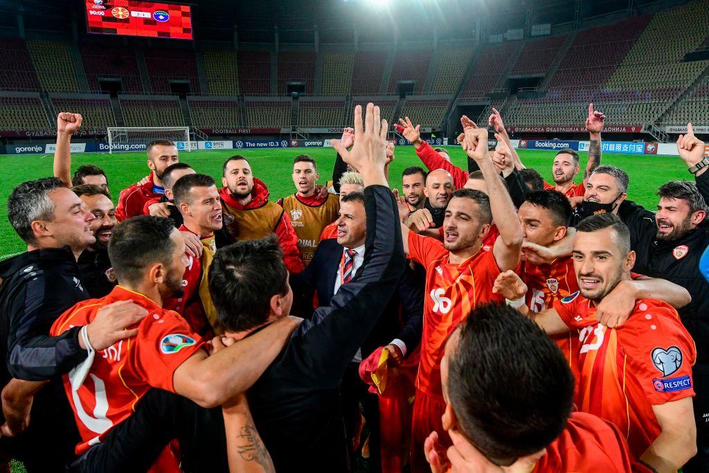 पहिलोपल्ट युरो खेल्ने तयारीमा रहेको नर्थ मासेडोनियाकाे अवसर