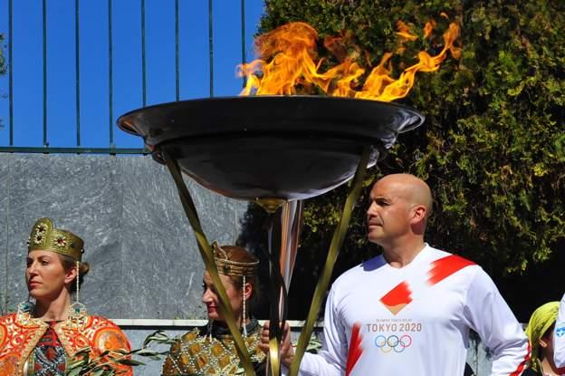 एक सय २१ दिनको ओलम्पिक टर्च र्याली आजबाट फेरी सुरु