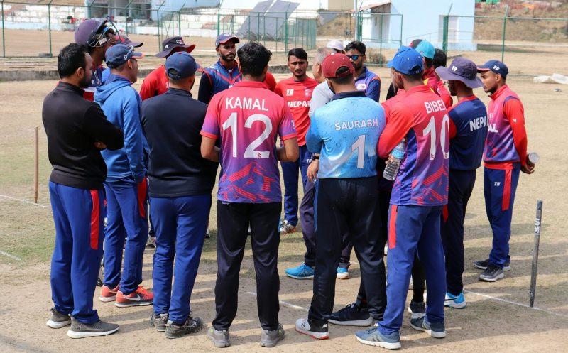 ओमानको सिरिज स्थगित भएपनि खेलाडीको बन्द प्रशिक्षण जारी हुने, खेलाडीको संख्या घटाइने
