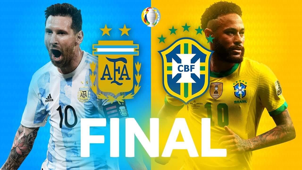 Copa America 2021 Final – The game Above-average