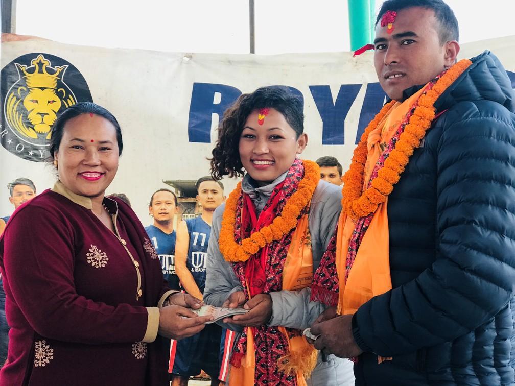सागका पदक विजेता सम्मानित