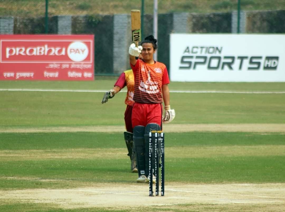 मेयर ११ काे पहिलाे जित, लुम्बिनी २७ रनले पराजित