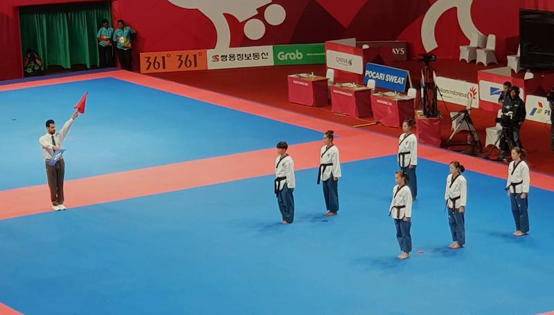 एसियाली खेलकुदः तेक्वान्दाेकाे पुम्सेमा नेपालकाे अाशा सकियो
