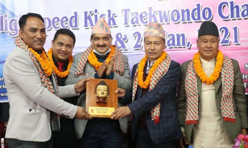 नेपाल ओपन अन्तर्राष्ट्रिय तेक्वान्दो सुरु, साग स्वर्ण विजेता पार्वतीलाई स्वर्ण