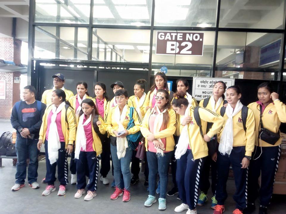 एशियन च्याम्पियनसिपका लागि नेपाली महिला भलिबल टिमकाे तयारी बैशाखबाट हुने