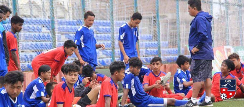 Nepali football team announced for SAFF U-18 Championship