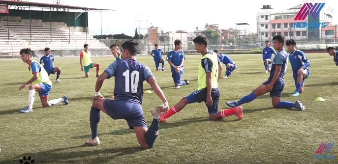 एएफसी यू–१९ च्याम्पियनसिप छनोटका लागि दाेस्राे चरणमा साफ खेलेका धेरै खेलाडी बाहिर