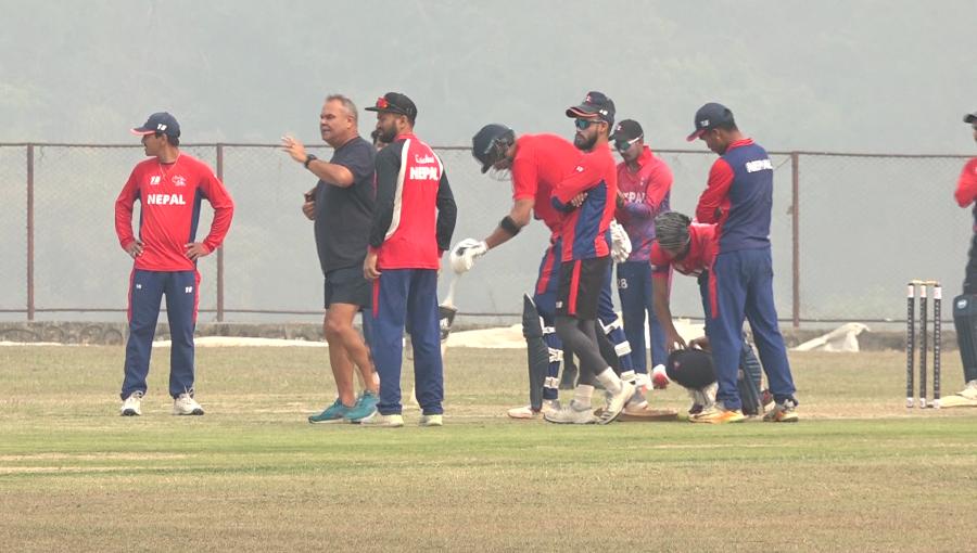 नेपाली क्रिकेट टिमको तयारी सुरु, मलेसिया र नेदरल्याण्ड्स चैत अन्तिममा काठमाडाैं आइपुग्ने