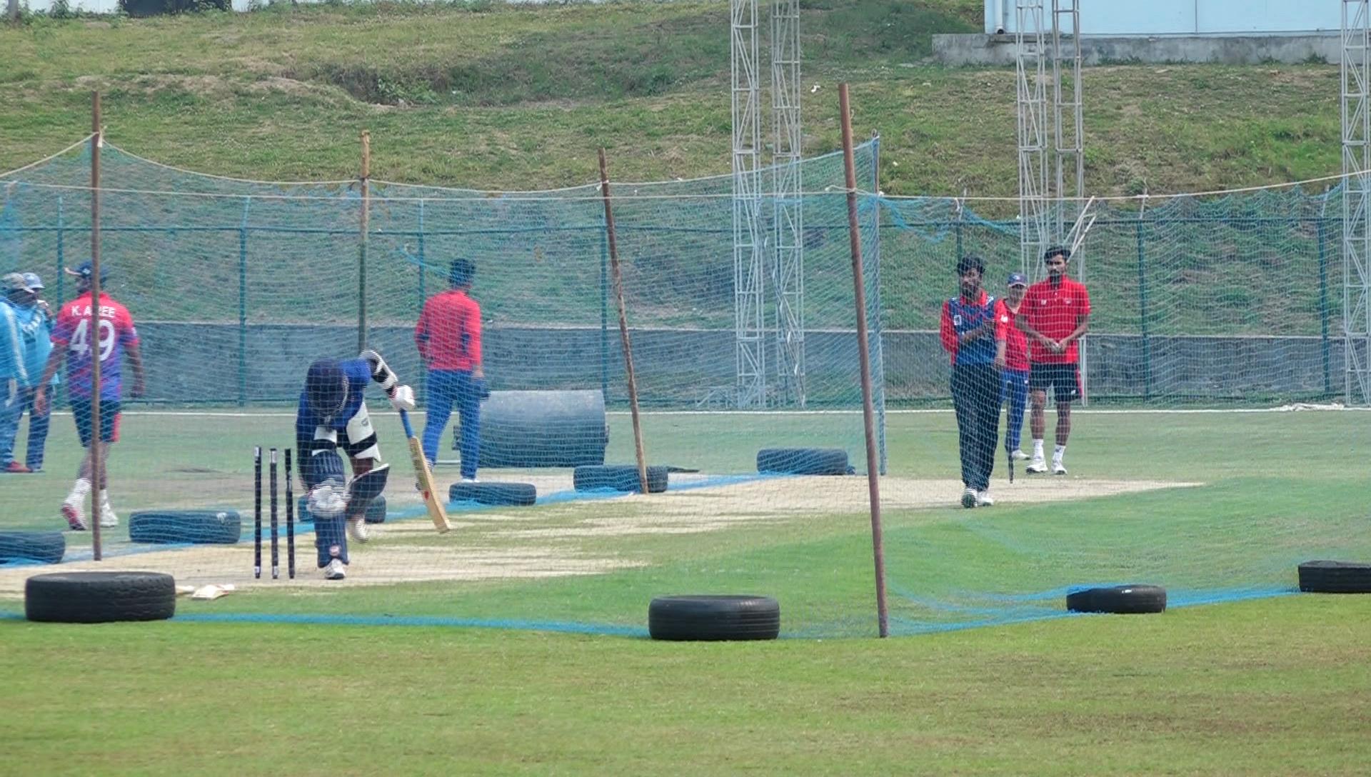 त्रिकाेणात्मक टी-२० क्रिकेट भाेलीदेखि, दर्शक प्रवेशमा ठूलाे अन्याेल