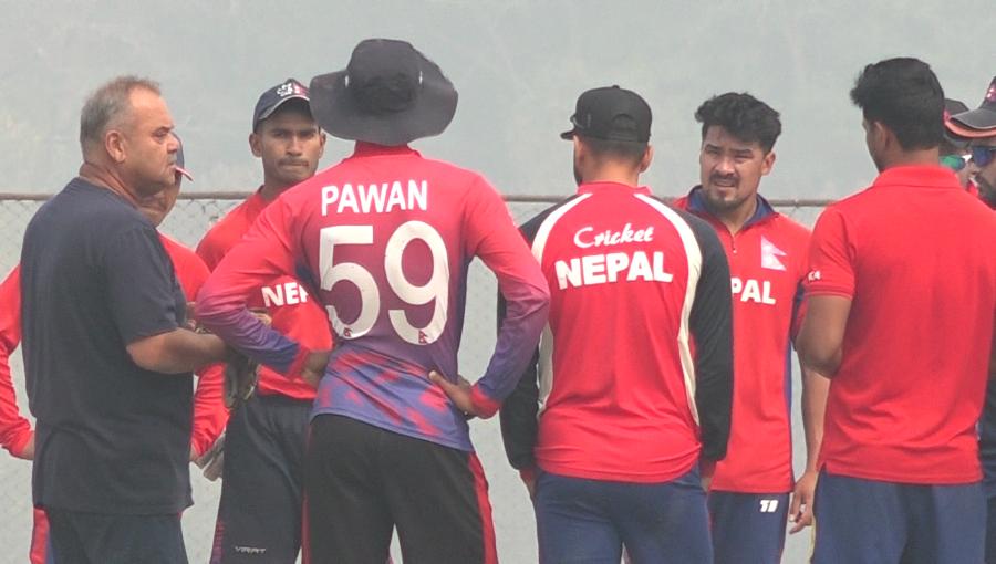 त्रिकोणात्मक क्रिकेट सिरिजका लागि नेपाली टोलीको घोषणा, आशिफ र साहब पहिलो पटक टी-२० टिममा